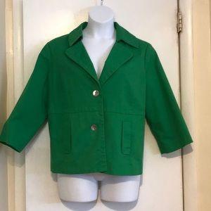 Beautiful Emerald Green Blazer, Size 2X